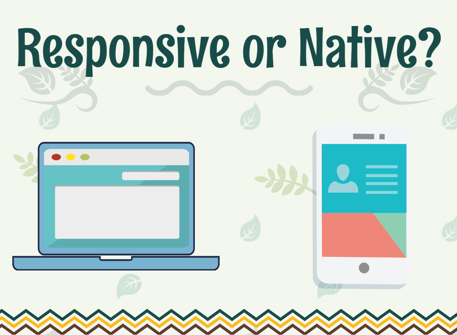 a picture about responsive website