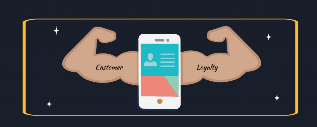 Customer Loyalty with mobile device application